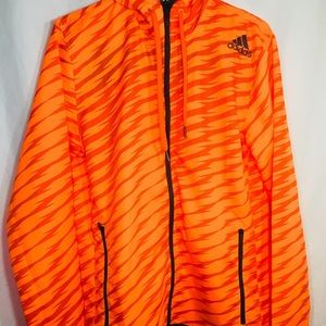 Adidas shockwave full zip hooded windbreaker